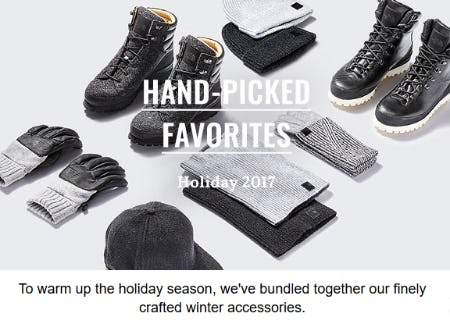 Shop Our Winter Accessories