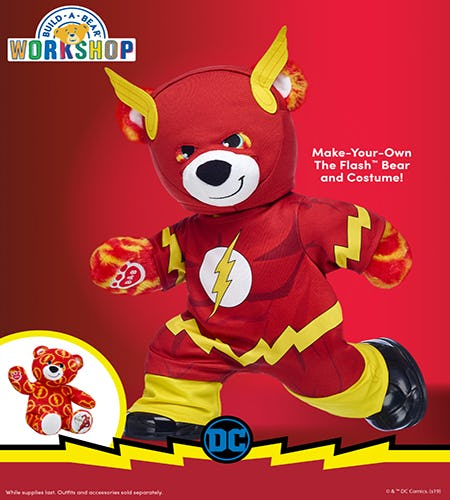 ACT FAST! Our NEW Flash Bear Is Here! from Build-A-Bear Workshop