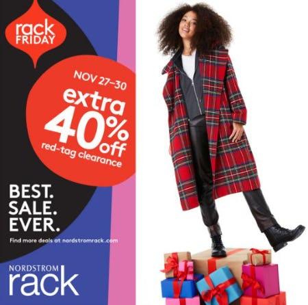 RACK FRIDAY WEEKEND from Nordstrom Rack