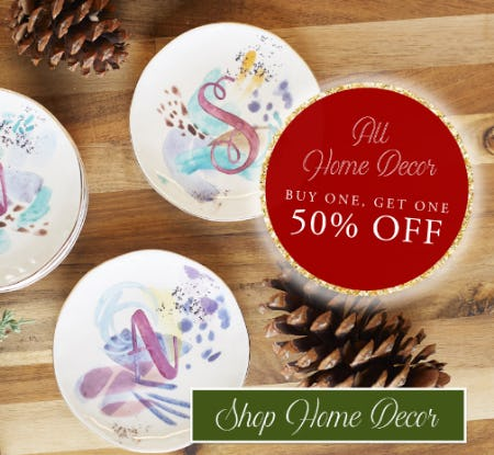 BOGO 50% Off All Home Decor from Altar'd State