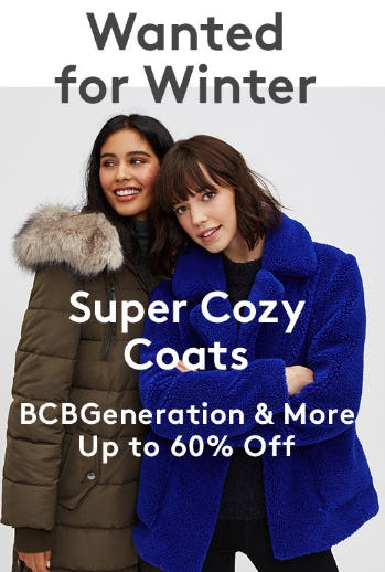 Up to 60% Off Super Cozy Coats from Nordstrom Rack