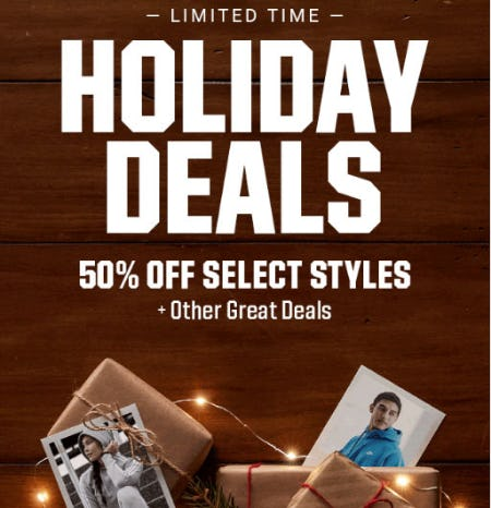 50% Off Holiday Deals from Dick's Sporting Goods