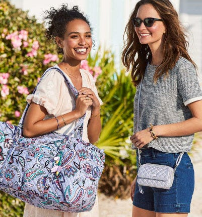 New Arrivals in Makani Paisley from Vera Bradley