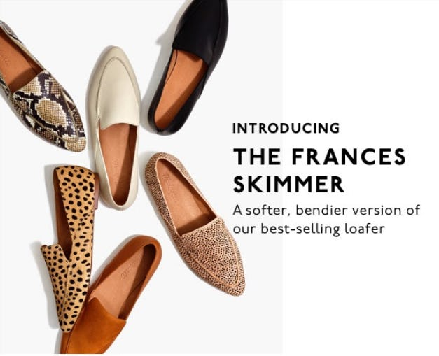 Introducing The Frances Skimmer from Madewell