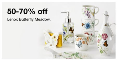 50-70% Off Lenox Butterfly Meadow