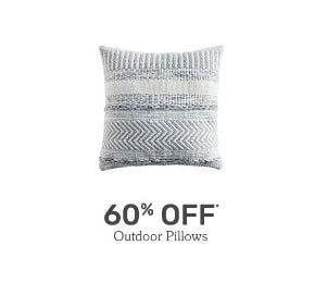 60% Off Outdoor Pillows from Pier 1 Imports