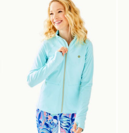 Luxetic Kapri Jacket from Lilly Pulitzer