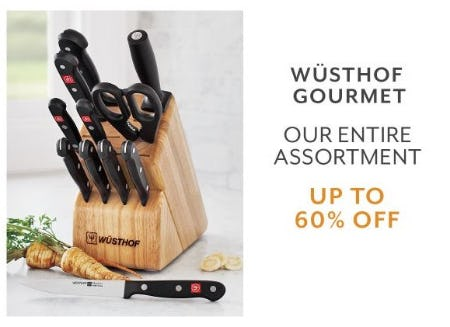 Up to 60% Off Wüsthof Gourmet from Sur La Table