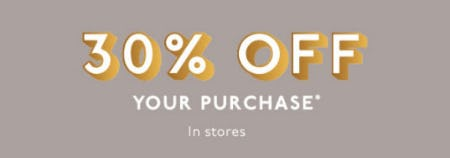 30% Off Your Purchase from Madewell