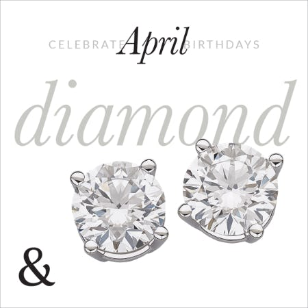 April Birthstone Jewelry Sale: 30% OFF from Rogers & Hollands Jewelers