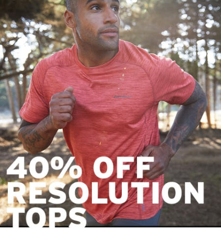 40% Off Resolution Tops from Eddie Bauer