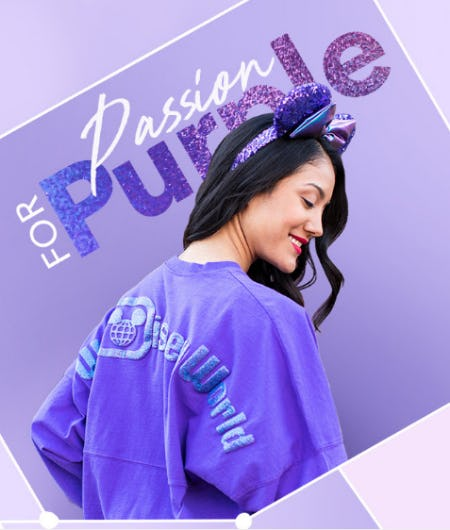 New  Potion Purple Collection from Disney Store