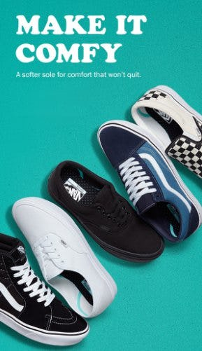 Make it Comfy from Vans