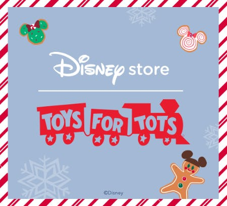 Get in The Giving Spirit! from Disney Store
