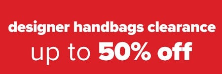 Up to 50% Off Designer Handbags Clearance from Belk Store