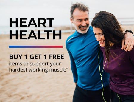 Buy 1, Get 1 Free on Heart Health