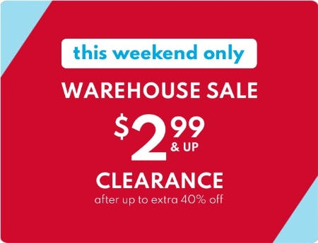 $2.99 & Up Clearance from Carter's