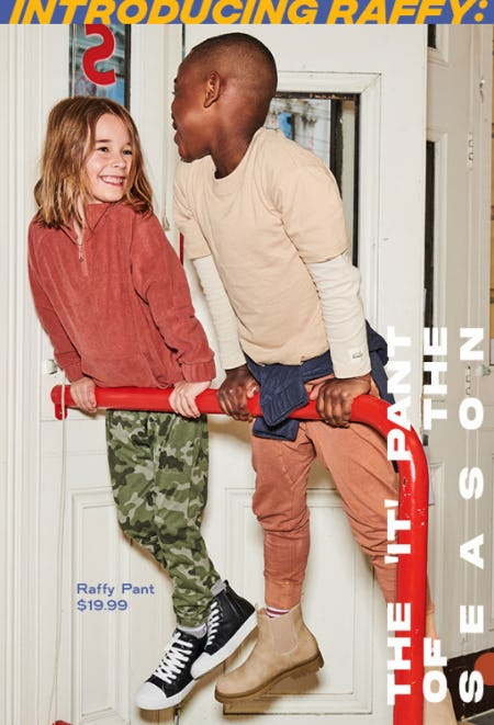 Introducing The 'IT' Pant of the Season from Cotton On Kids