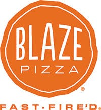 Blaze Fast Fired Pizza Logo