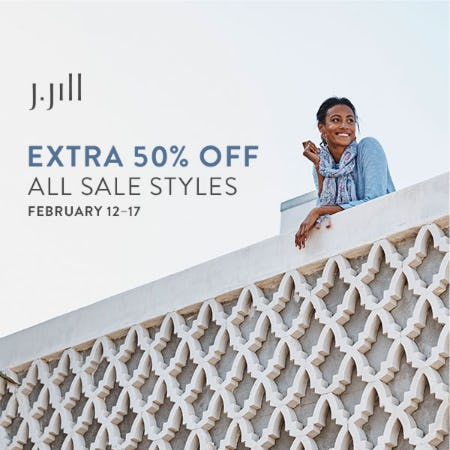 Extra 50% off Sale Styles from J.Jill