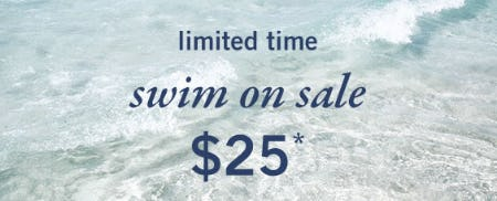Swim on Sale $25