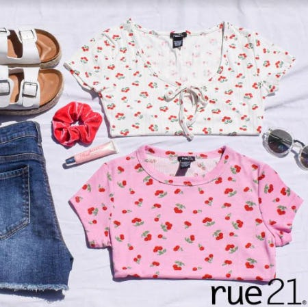 Mix and Match, BOGO 50% from rue21