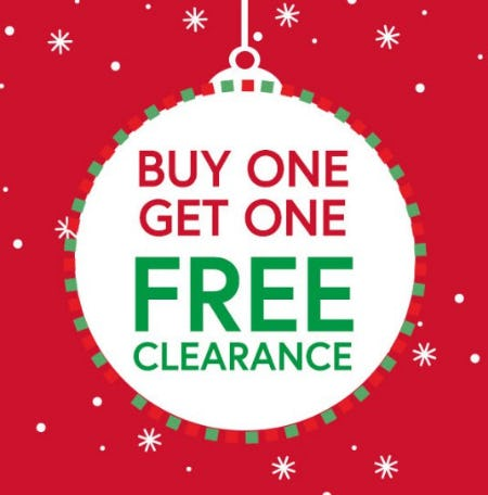 Buy One, Get One Free All Clearance from Charming Charlie