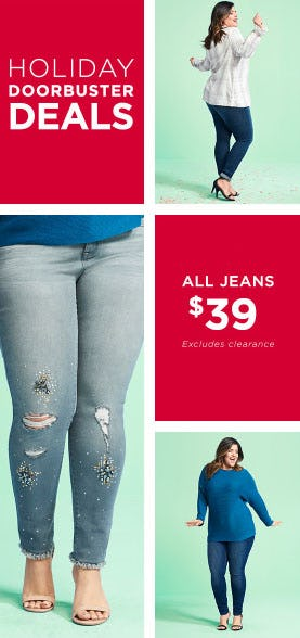 New Doorbuster: All Jeans $39 from Lane Bryant