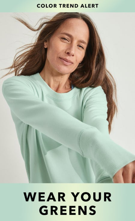 Wear Your Greens from Athleta
