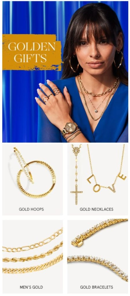 Golden Gifts from Zales