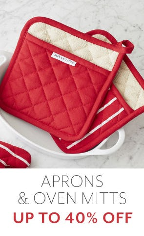 Up to 40%Off Aprons & Oven Mitts from Sur La Table