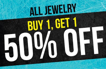 BOGO 50% Off All Jewelry from Spencer's Gifts