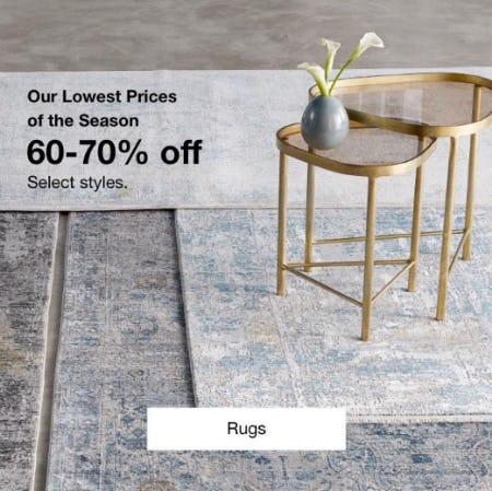 60-70% Off Rugs