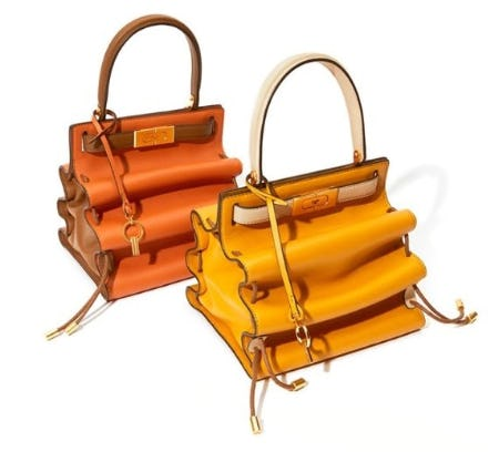 The New Lee Radziwill Accordion Bag