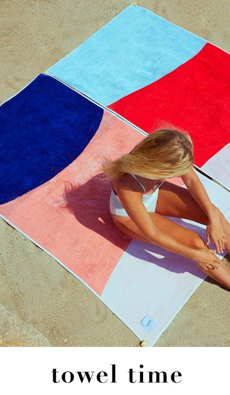 Stunning Beach Towels from Everything But Water