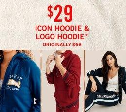 $29 Icon Hoodie & Logo Hoodie