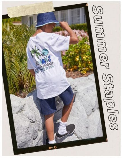 Kids' Summer Staples from Tillys