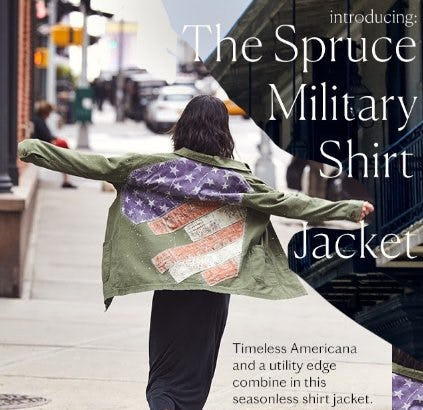 Introducing: The Spruce Military Shirt Jacket from Free People
