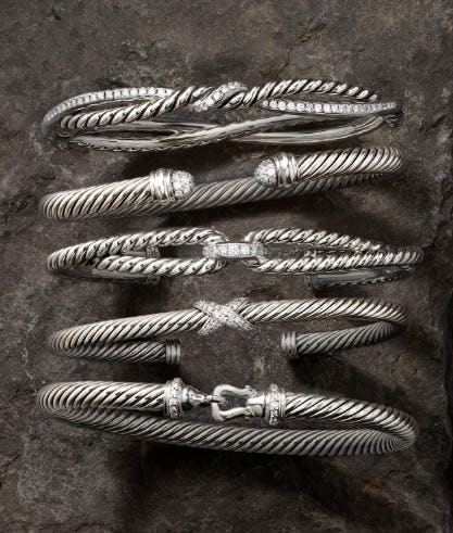 The Cable Bracelet Collection from David Yurman