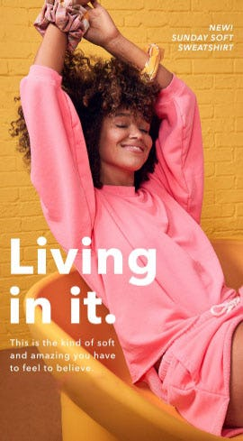 New: Sunday Soft Sweatshirt from Aerie