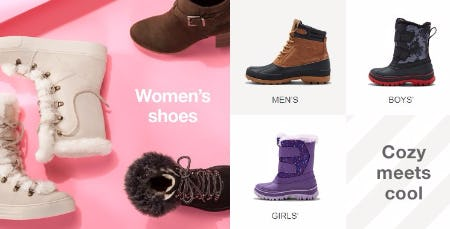 20% Off Winter Boots