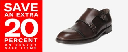 Save an Extra 20% on Select Sale Items from Allen Edmonds