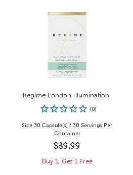 Regime London Illumination Buy 1, Get 1 Free from GNC