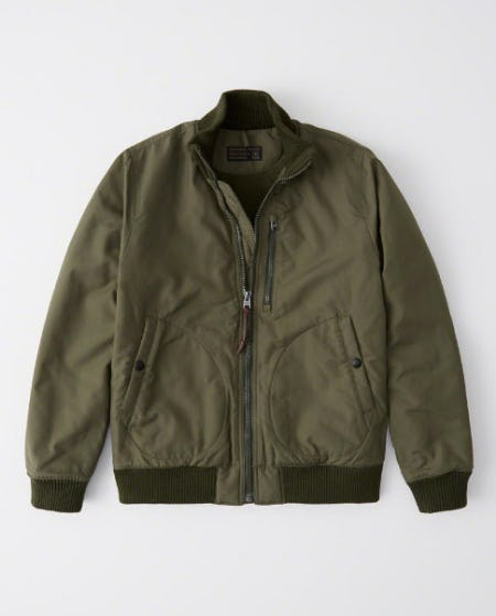 Deck Bomber Jacket from Abercrombie & Fitch