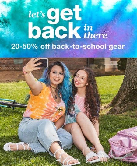 20-50% Off Back-to-School Gear from macy's