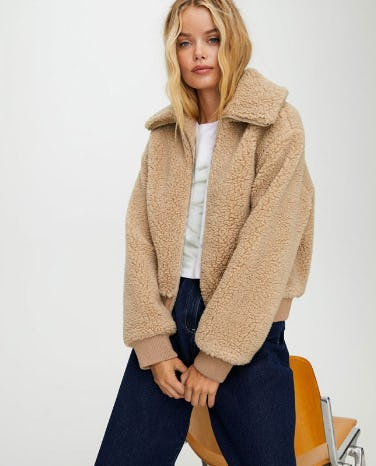 The Teddy Bomber Jacket from Aritzia