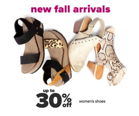 Up to 30% Off Women's Shoes from Belk Store
