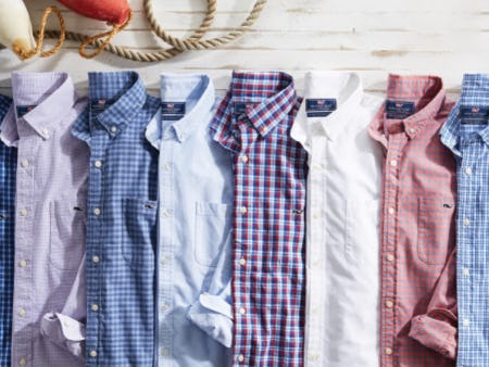 The Best Button-Downs from vineyard vines