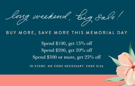 Buy More, Save More from Kendra Scott