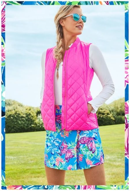 Explore the Latest in Luxletic from Lilly Pulitzer